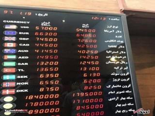 یاد و خاطره رکوردهای طلایی احمدی نژاد زنده شد/ رکوردشکنیها در بازار ارز لحظهای شد: دلار 5700، یورو 6500 تومان / افتضاح سقوط پول ملی؛ به مردم توهین نکنید و در مورد این فاجعه، توضیح دهید
