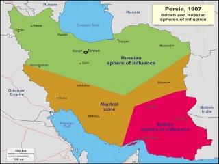 23 می ، قرارداد 1907 میان انگلیس و روسیه