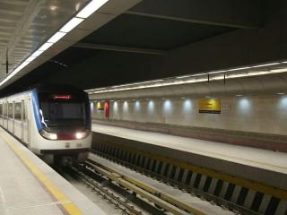اختلال در خط 4 متروی تهران