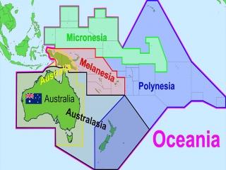 قاره اقیانوسیه و کشورهای آن