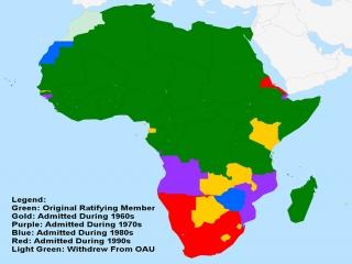 4 خرداد ، تاسیس سازمان وحدت آفریقا