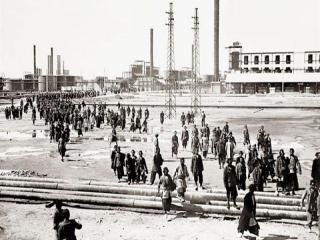 24 اردیبهشت ، نخستین اعتصاب کارکنان صنعت نفت در آغاجاری (1325)