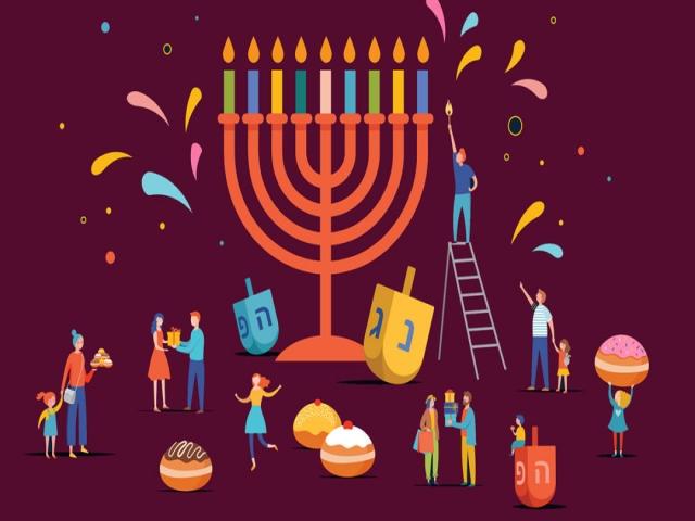 جشن حنوکا، عید یهودیان