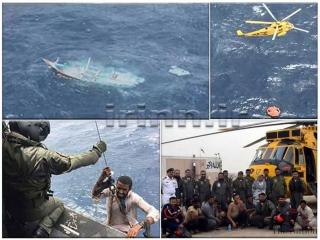 11 ماهیگیر ایرانی با کمک نیروی دریایی پاکستان نجات یافتند
