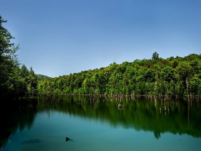 دریاچه و تالاب ارواح !! در نوشهر مازندران