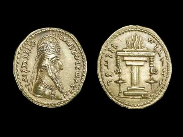 21 خرداد ، رواج سکه زرین شعله جاویدان به عنوان پول ملی در زمان اردشیر بابکان (226 م)