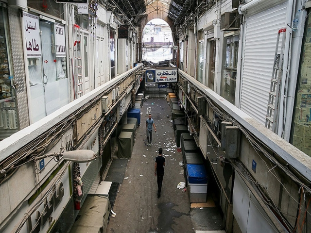 بازار تهران امروز هم تعطیل شد/ تجمع بازاریان در خیابان 15 خرداد