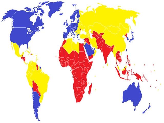 کشورهای جهان اول کدامند؟