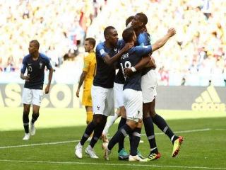 فرانسه 2 - 1 استرالیا ؛ برد ویدئویی!