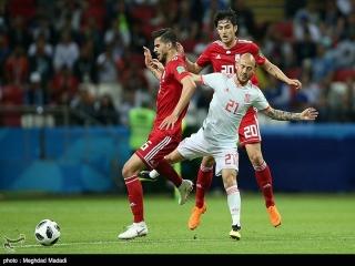 ایران 0 - 1 اسپانیا ; زجر ماتادورها در شبی که ویدئوچک علیه ایران بود