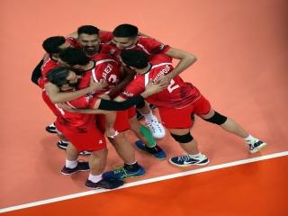 پیروزی یک طرفه والیبال ایران مقابل چین