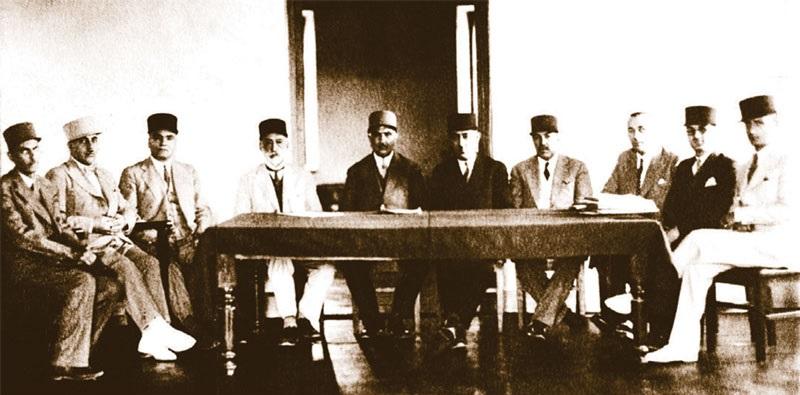 آسمونی - اولین جلسه مجمع عمومی بانک فلاحتی و صنعتی ایران