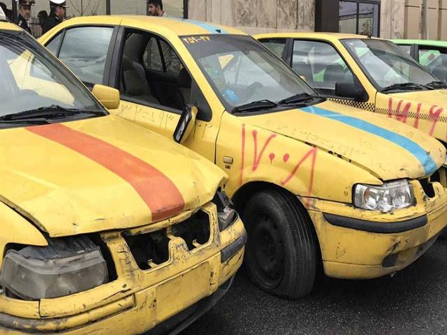 تاکسیهای فرسوده جریمه نمیشوند