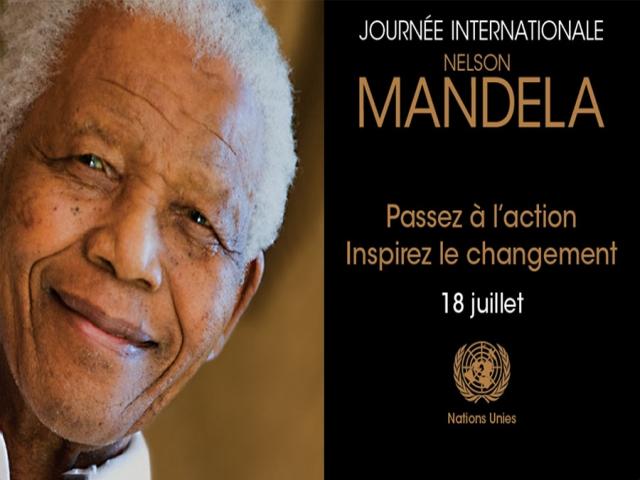 18 جولای ، روز جهانی نلسون ماندلا
