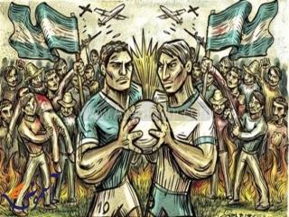 جنگ فوتبال ; وقتی دو کشور همسایه به خاطر فوتبال ، با یکدیگر نبرد کردند