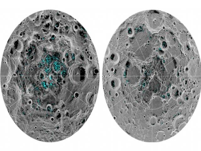 ناسا اعلام کرد: وجود آب در کره ماه قطعی شد