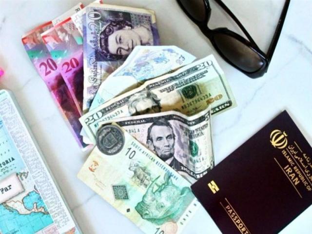 سقف ارز مسافرتی 5000 یورو شد