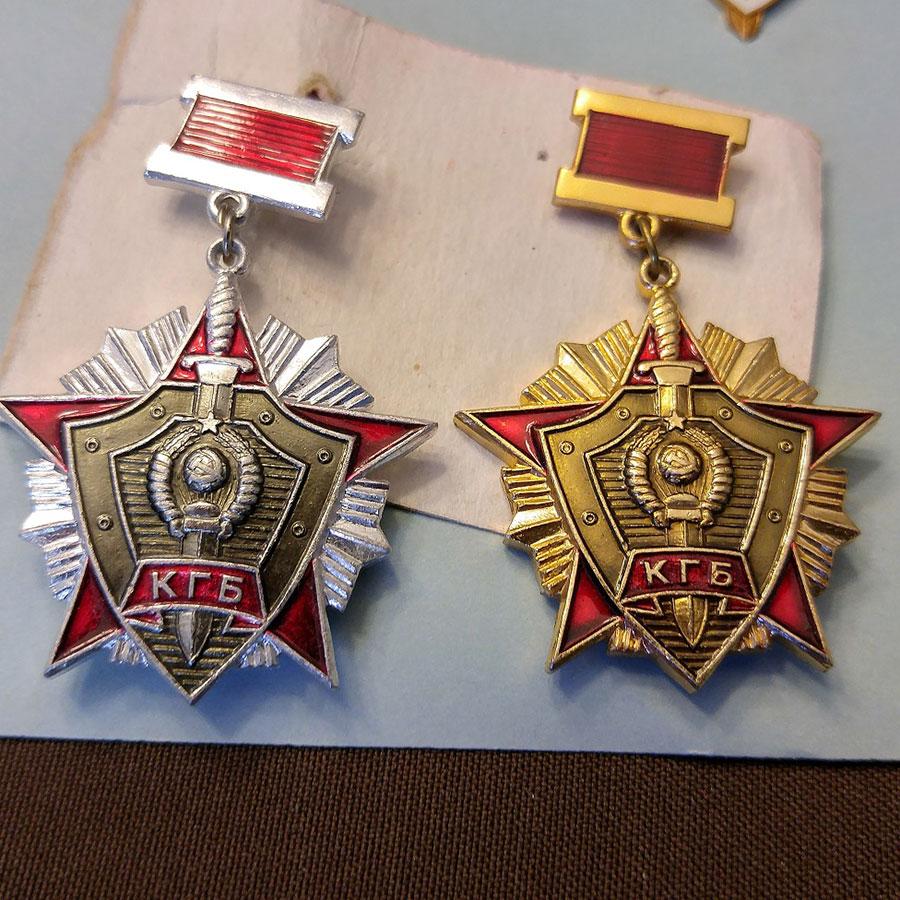 مدالهای کا گ ب - آسمونی