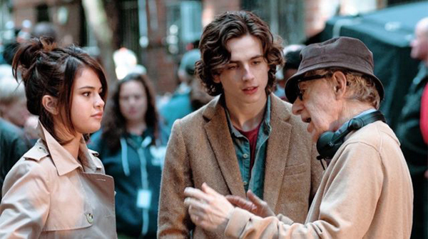 شالامی در فیلم یک روز بارانی در نیویورک