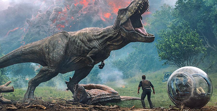 صحنه ای از فیلم پارک ژوراسیک - آسمونی