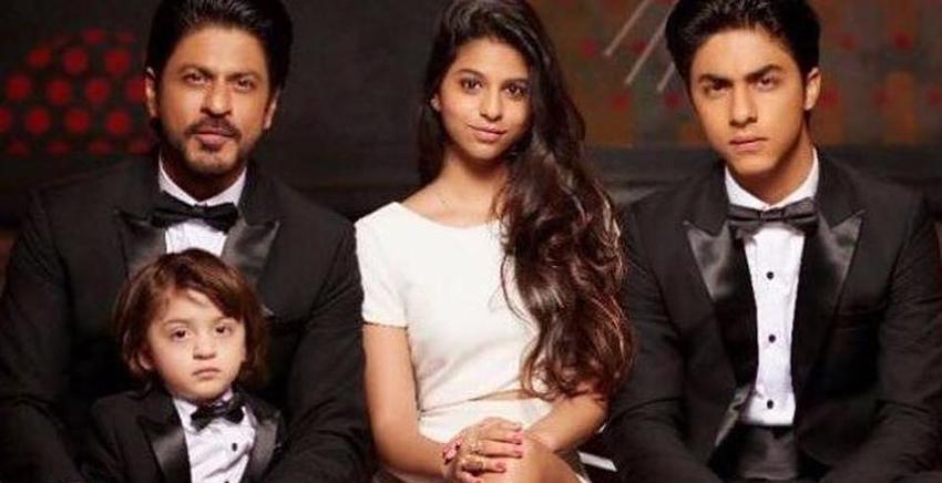 شاهرخ خان و فرزندانش