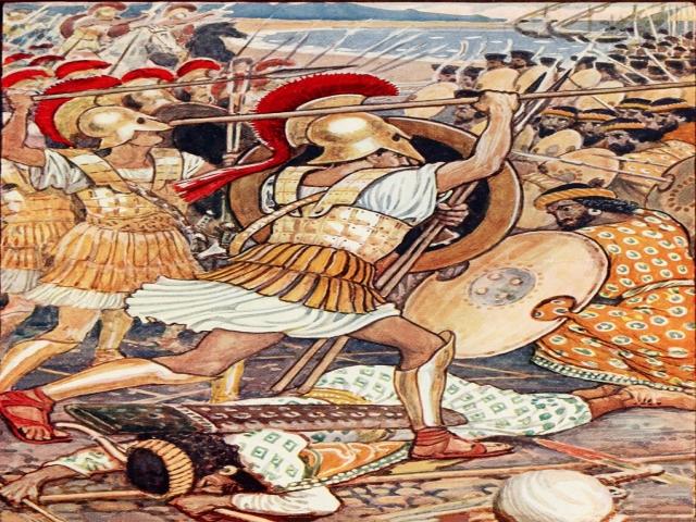 21 شهریور ، شکست داریوش از یونانیان در نبرد مارتن (490 م)