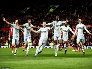منچستر یونایتد 2 - 2 دربی کانتی ؛ صعود شاگردان لمپارد در ضربات پنالتی