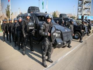 دلیل حضور مأموران یگان ویژه ناجا در نقاط مرکزی پایتخت