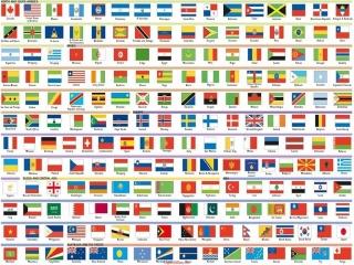 پرچم کشورهای جهان با نام و تصویر + فلسفه پرچم