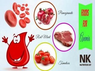 تغذیه در کم خونی