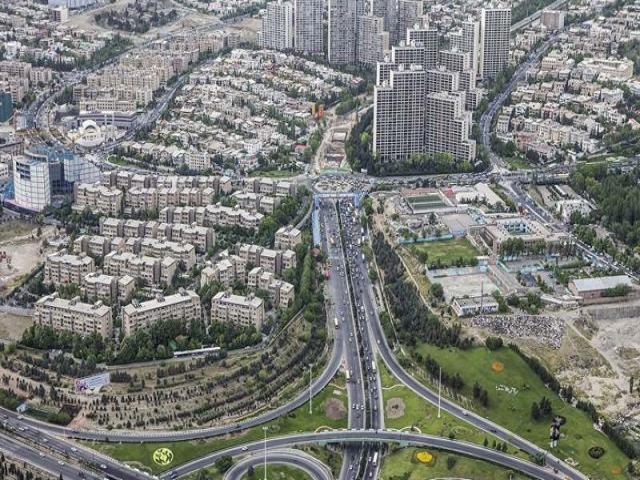 محله های مرکز تهران