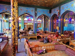 بهترین سفره خانه ، قهوه خانه و چایخانه در تهران