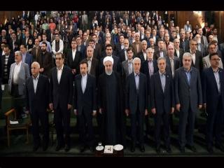 حاشیههای حضور روحانی در دانشگاه تهران