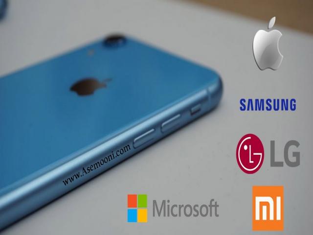 تمام برند های دنیای موبایل + عکس