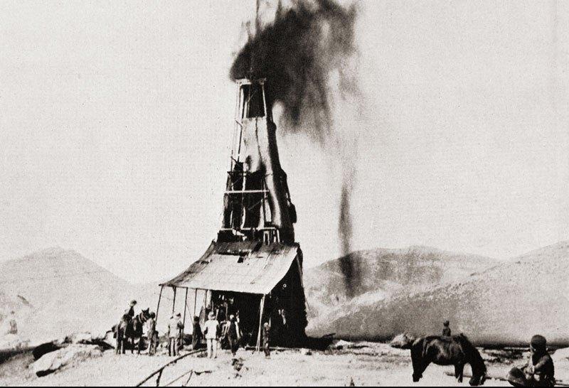 اولین چاه نفت در مسجد سلیمان