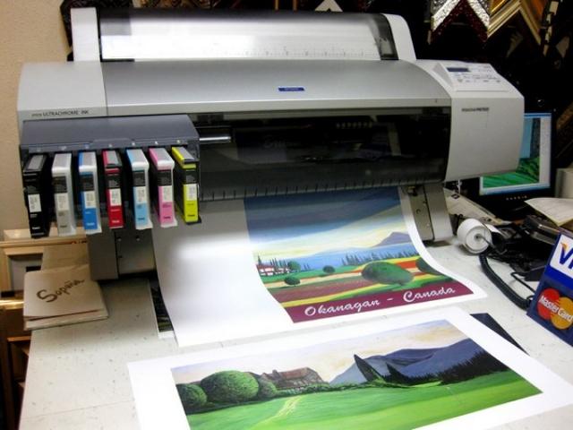 چاپ چیست + انواع چاپ