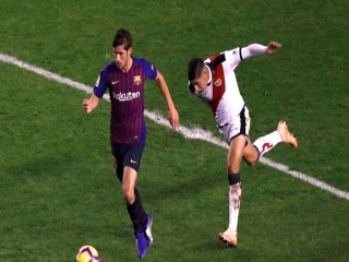 بارسلونا 3 - 2 رایو وایه کانو ؛ تعویض شکست با پیروزی در دقایق پایانی