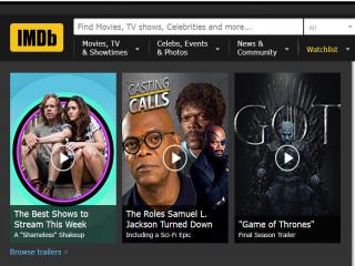 آشنایی با سایت IMDB بانک اطلاعاتی اینترنتی فیلم