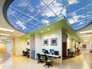 تصاویری از طرح های آسمان مجازی در سقف