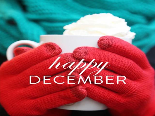 عکس نوشته تبریک دسامبر ، آخرین ماه از سال میلادی (Happy December)