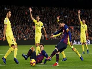 بارسلونا 2 - 0 ویارئال ؛ برد با طعم بازگشت به صدر جدول