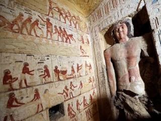 کشف یک مقبره 4400 ساله در مصر