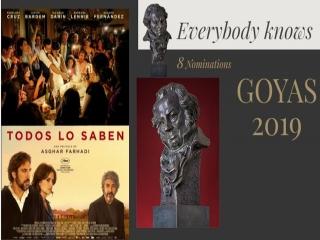 «همه میدانند» نامزد 8 جایزه اسکار سینمای اسپانیا شد