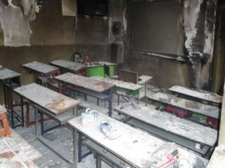 فوری : آتشسوزی دوباره یک پیشدبستانی در زاهدان