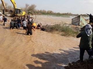 دستور تخلیه یک شهر خوزستان به دلیل سیل