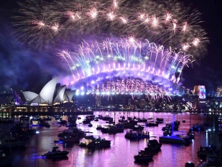 تصاویر جشن سال نو میلادی 2019 در جهان