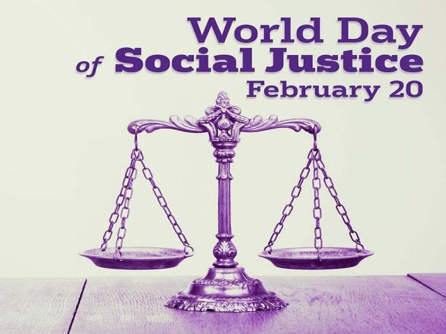20 فوریه ، روزجهانی عدالت اجتماعی