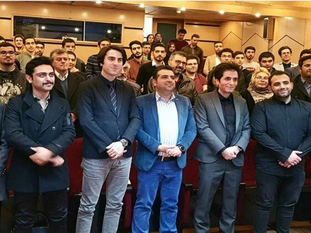 حضور پورتال آسمونی و مهندس سعید زنگنه در اولین همایش امنیت ( دنیا از دید هکرها ) در تهران