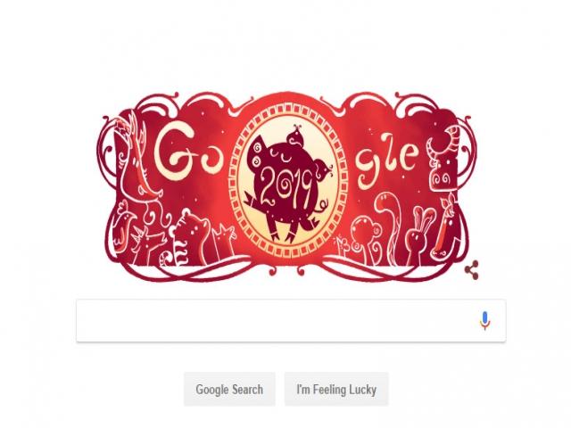 فرا رسیدن سال نو چینی و تغییر لوگوی گوگل