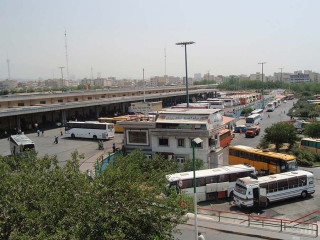 تعطیلی پایانه غرب در راهپیمایی 22 بهمن